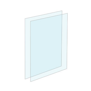 Clear Protective Acrylic Inserts for Tensabarrier Sign Frames