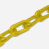 Plastic Chain 50ft yellow