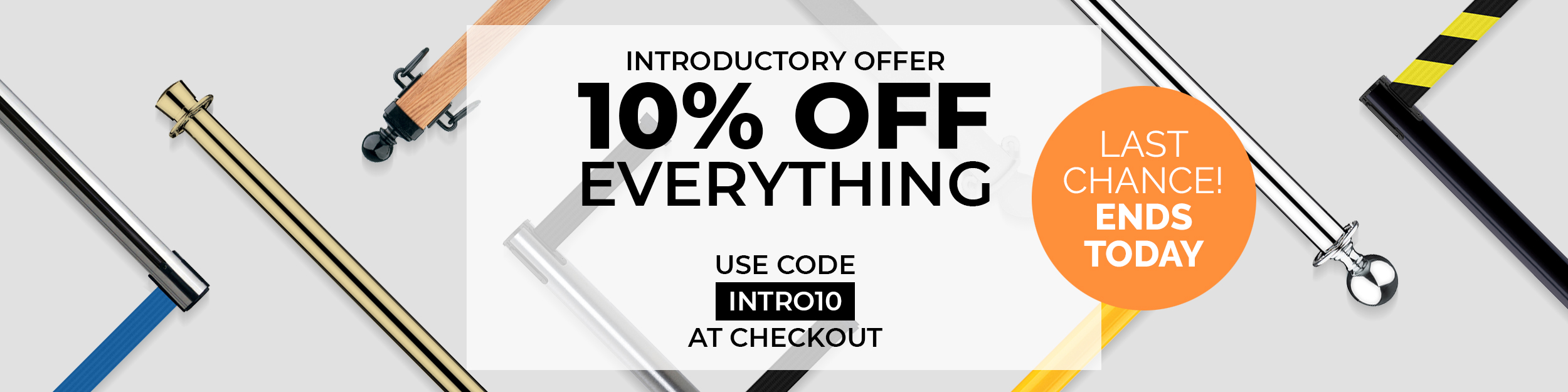 10% Off Everything! Last Chance! Ends Today